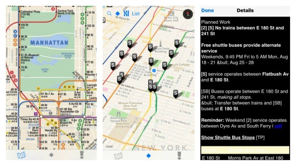 Subway Locator App