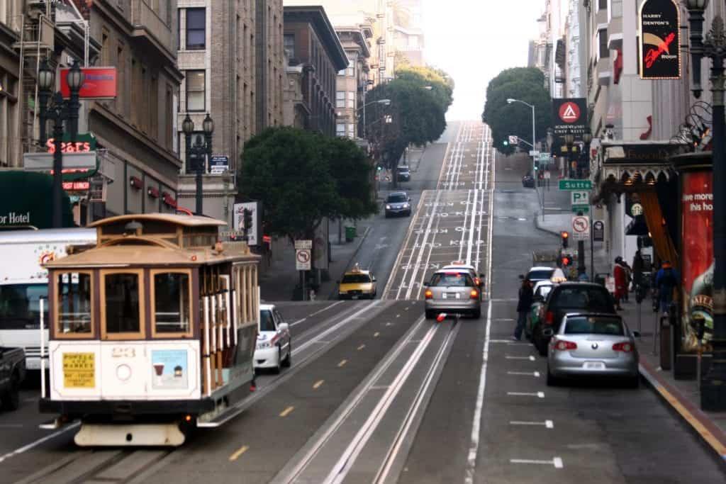 San Francisco Itinerary Cable Car