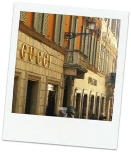 Storefronts in Rome