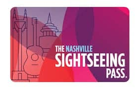 The Nashville Sightseeing Pass Card. Source: Nashville Sightseeing Pass.