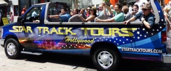 Star Track Tours Hollywood