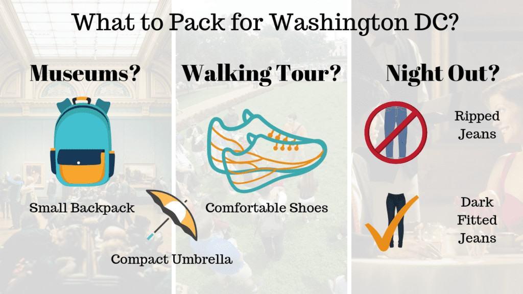 DC Packing List Tips
