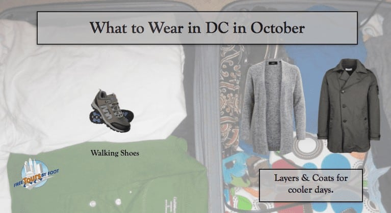 What to Wear in DC in October