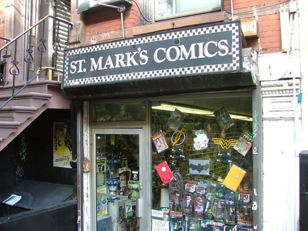 St. Marks Comics Sex and the City