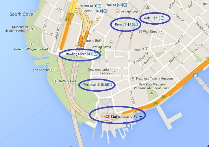 How to get to the Staten Island Ferry