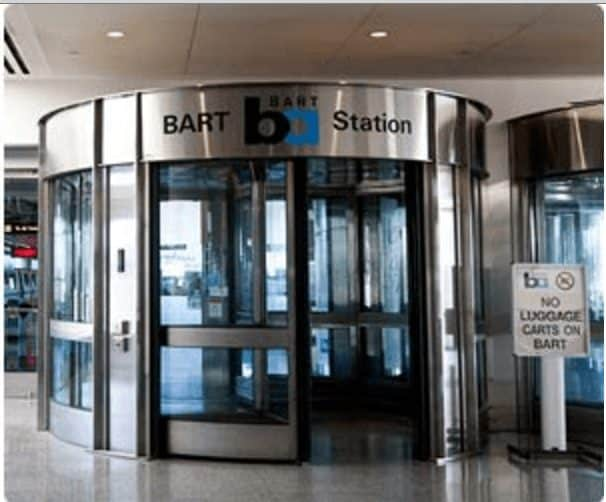 How to Get from San Francisco Airport to Downtown SFO BART entrance