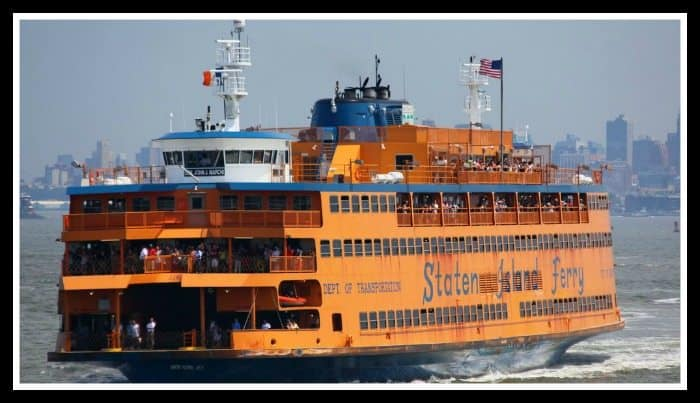 Where to Stand on Staten Island Ferry