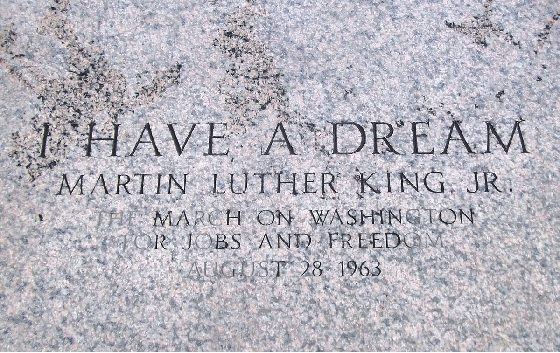 MLK I have a dream Lincoln Memorial