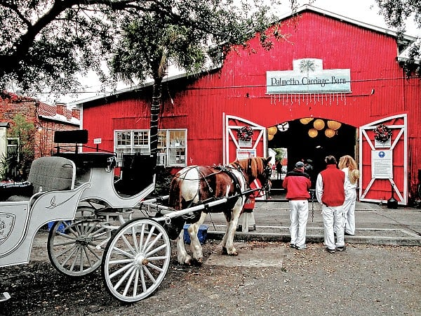 Red Barn at Palmetto Carriage