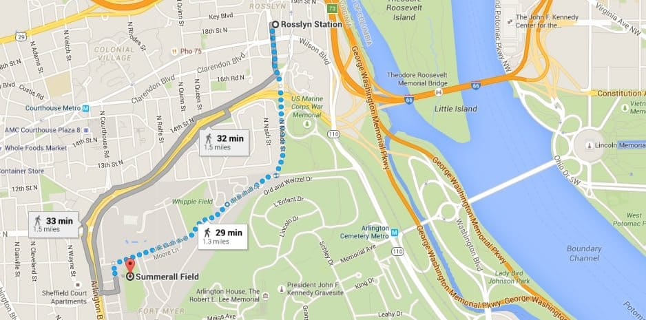 How to get to Twilight Tattoo Fort Myer