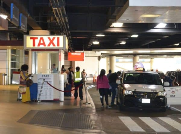 New Orleans Airport Taxi Pool.